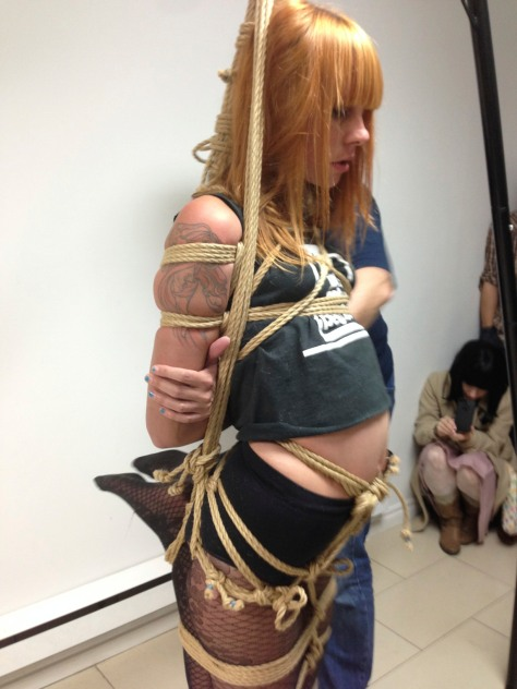 How A Friday Night Walk Led To Researching Japanese Rope